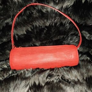 Louis Vuitton mini accessory red soufflot